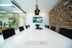 Boardroom at Head Office of Bloom Landscaping